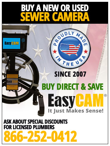 EasyCam Sewer Camera Equipment
